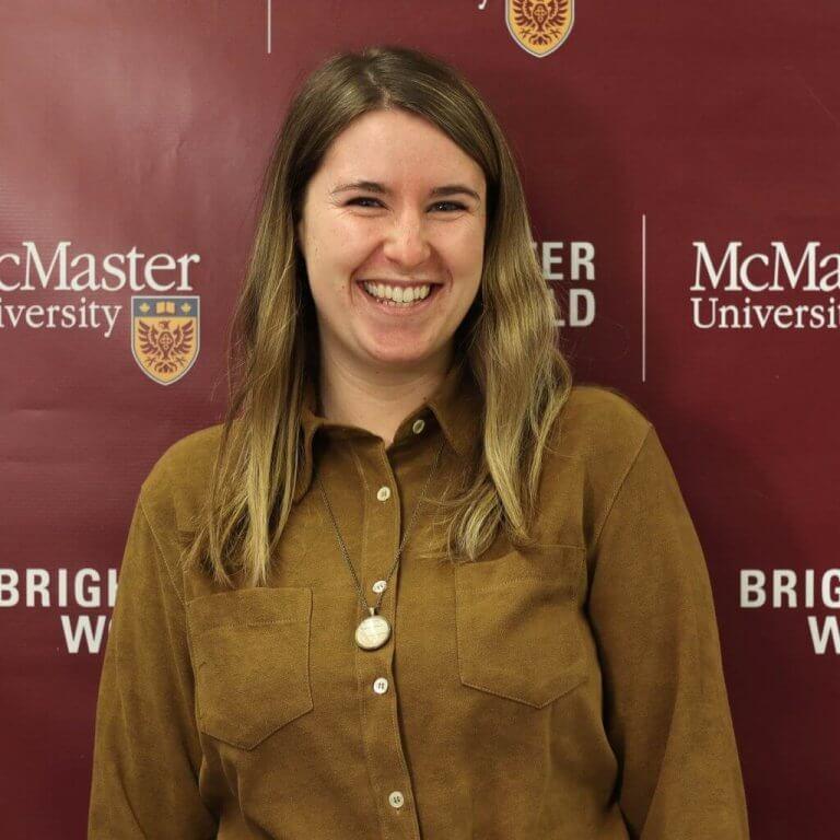 A headshot of McMaster team member Amanda