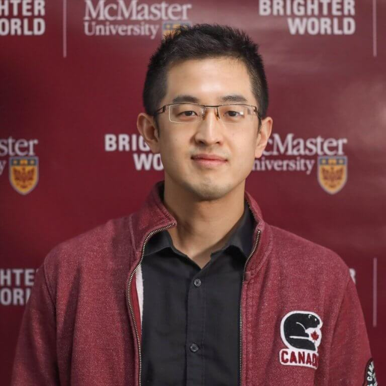 A headshot of McMaster team member Jerry