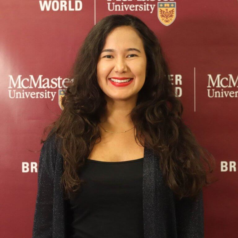 A headshot of McMaster team member Yessica